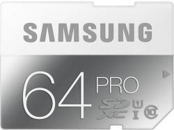Samsung microSDXC PRO 64GB Class 10 UHS-I MB-MG64D/EU
