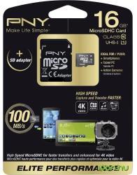 PNY Elite Performance 16GB MicroSDHC UHS-I (SDU16G10ELIPER-EF)