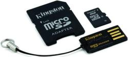 Kingston MicroSDHC 8GB Class 4 Mobility Kit (MBLY4G2/8GB)
