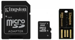 Kingston MicroSDHC 8GB Class 10 Multi Kit/Mobility Kit (MBLY10G2/8GB)
