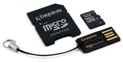 Kingston microSDHC 16GB Class 10 Multi kit/Mobility Kit (MBLY10G2/16GB)