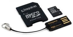Kingston microSDHC 16GB Class 10 Multi kit/Mobility Kit MBLY10G2/16GB