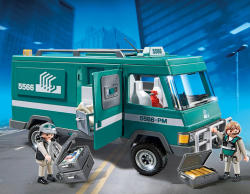 Playmobil Vehicul de transport valori (5566)