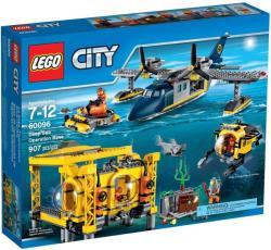 LEGO City - Mélytengeri felfedezők - Mélytengeri irányító bázis (60096)