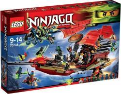 LEGO Ninjago - A Sors Adománya utolsó repülése (70738)