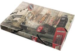 Panta Plast Gumis mappa 30 mm A4 PP London (410006534)
