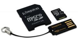Kingston microSDXC 64GB C10/UHS-I Multi Kit/Mobility Kit MBLY10G2/64GB