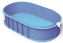 Polipropilén ovális medence 450x200x120cm (MDO2-452)