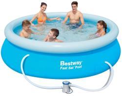 Bestway 57270 KORFU puhafalú medence vízforgatóval 305x76cm (FFA 133)