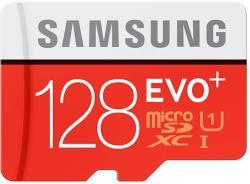 Samsung microSDXC EVO+ 128GB Class 10 MB-MC128DA/EU