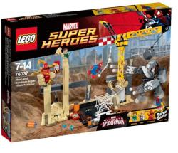 LEGO Marvel Super Heroes - Rhino és a szuper gonosz Homokember (76037)