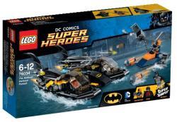 LEGO DC Comics Super Heroes - Batman - A Batboat kikötői üldözés (76034)
