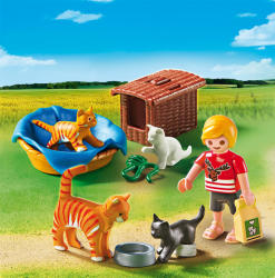 Playmobil Familie de pisici (5535)