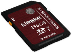 Kingston SDXC 256GB UHS-I U3 SDA3/256GB