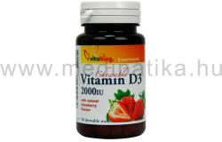 Vitaking D3-vitamin 2000NE rágótabletta (90db)