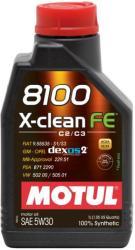 Motul 8100 X-Clean FE 5W30 (4L)