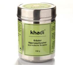 Khadi Gyógynövényes hajmosó por 150g