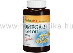 Vitaking Omega-3 halolaj 1200mg kapszula - 90 db