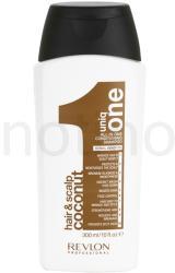 Revlon Uniq One Care erősítő sampon (Conditioning Shampoo Coconut) 300ml