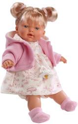 Llorens Isabela szőke hajú síró baba - 33 cm