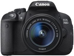 Canon EOS 700D + 18-55mm IS STM + 50mm