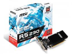 MSI Radeon R5 230 2GB GDDR3 64bit PCIe (R5 230 2GD3H LP)