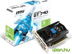 MSI GeForce GT 740 2GB GDDR3 128bit PCIe (N740-2GD3)