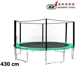 AGA SPORT PRO 430cm trambulin szett