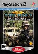 Sony SOCOM 3 U.S. Navy SEALs [Platinum] (PS2)