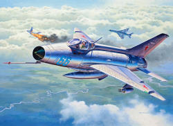 Revell MiG-21F-13 Fishbed C 1/72 3967