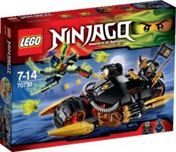 LEGO Ninjago - Romboló motor (70733)