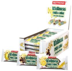 Nutrend Wellness Oats Cake Zabpehely Szelet 20x70g