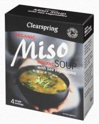 Clearspring Bio Miso Zöldséges Levespaszta 4x15g