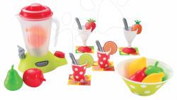 Ecoiffier Smoothie Mixer terítéssel és gyümölccsel (2626)