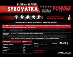 Vitalmax SYROVÁTKA 2,5kg