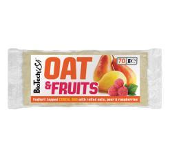 BioTechUSA Oat & Fruits Körtés - málnás zabszelet 70g