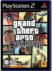 Rockstar Games Grand Theft Auto San Andreas [Platinum] (PS2)