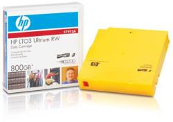 HP LTO3 Ultrium 800GB Rewritable Data Cartridge (C7973A)