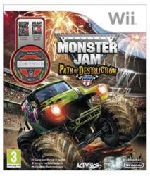 Activision Monster Jam Path of Destruction [Wheel Bundle] (Wii)