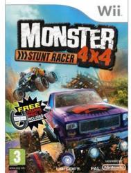 Ubisoft Monster 4x4 Stunt Racer [Wheel Bundle] (Wii)