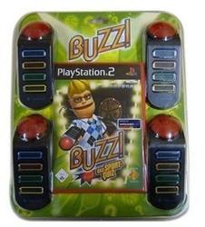 Sony Buzz! The Sports Quiz [Bundle] (PS2)
