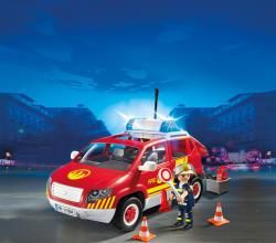 Playmobil Masina Sef Pompieri (5364)