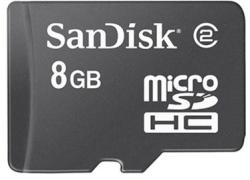 SanDisk Micro SDHC 8GB SDSDQ-008G-E11M