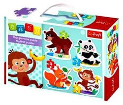 Trefl Baby Classic Állatok kedvenc eledelei (36056)