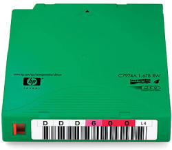 HP LTO-4 Ultrium 1.6TB 20 Pack Data Cartridge (C7974AJ)