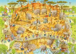 Heye African Habitat - Afrikai élőhely 1000 db-os (29639)