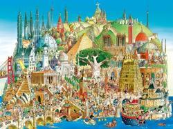 Heye Global City (Prades) - Globális város 1500 db-os (29634)