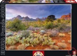 Educa Naplemente a Vörös sziklánál (Arizona USA) 4000 db-os (16324)