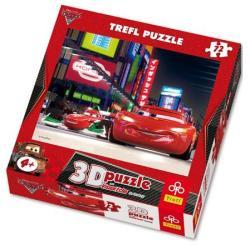 Trefl 3D Verdák Villám McQueen és Francesco 72db-os (35556)