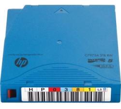 HP LTO-5 Ultrium 3TB RW 20 Pack Data Cartridge (C7975AJ)